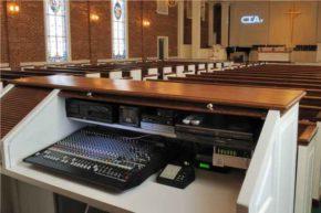 sistema de som simples para igreja